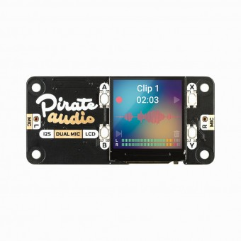 Carte d'extension Pirate Audio : Dual Mic