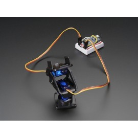 mini kit pan-tilt programmabile con micro servo