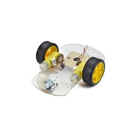 Robot chassis 2 ruote motrici
