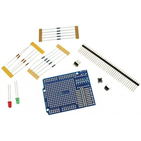 Kit di prototipazione Arduino Proto Shield REV3