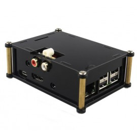 Case per Scheda Audio DAC+ e Raspberry Pi