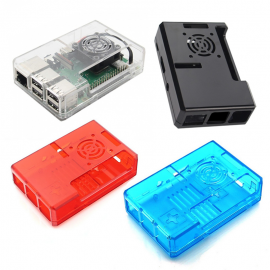 Case Raspberry Pi con supporto per ventola