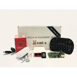 Kit Media Center Raspberry Pi 3 B+