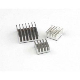 Set de 3 heat sink aluminium